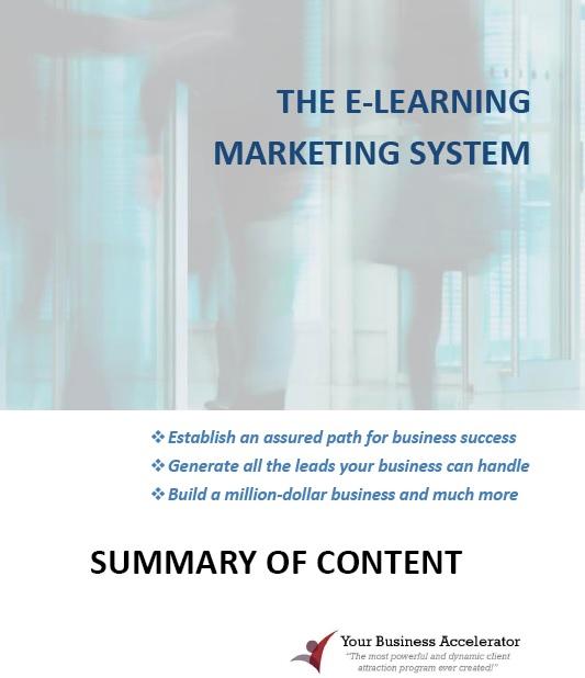 YBA program content cover